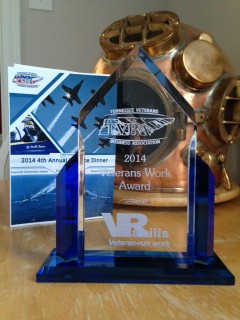 Veterans Work Award 2014 from TVBA