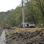 concrete revetment mats to protect shoreline
