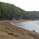 project included shoreline grading and reinforcement