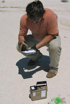 testing soil samples