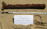UXO found at South Beach